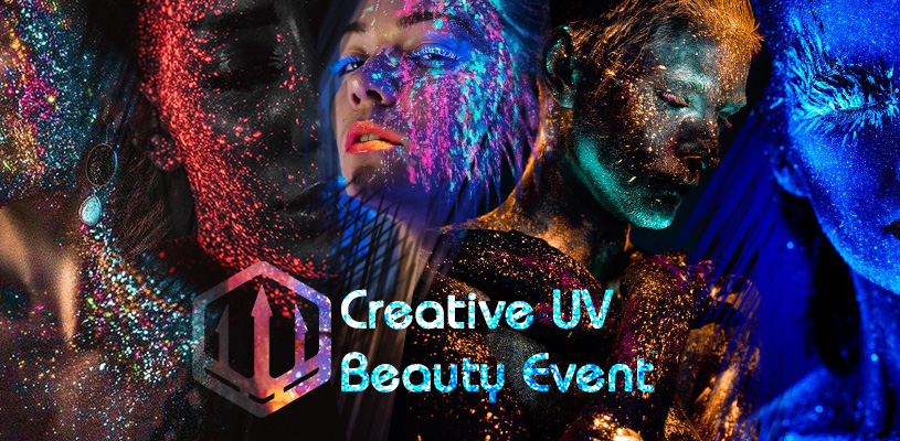 Creative UV Beauty Portfolio Builder