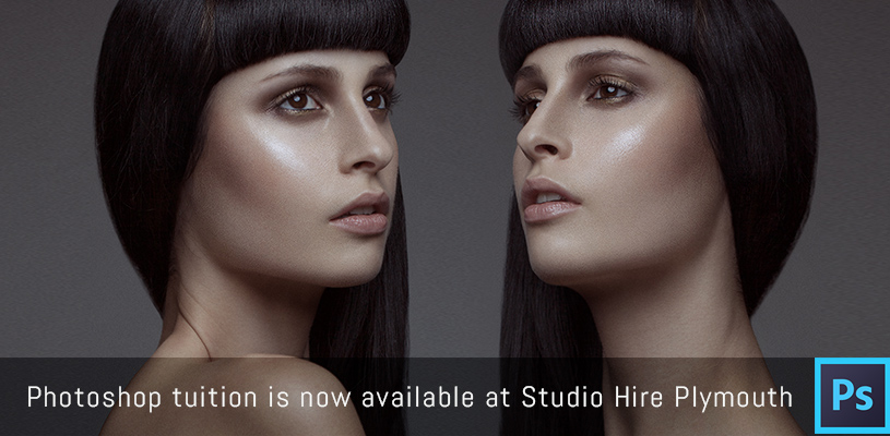 Photoshop tuition is now available at Studio Hire Plymouth